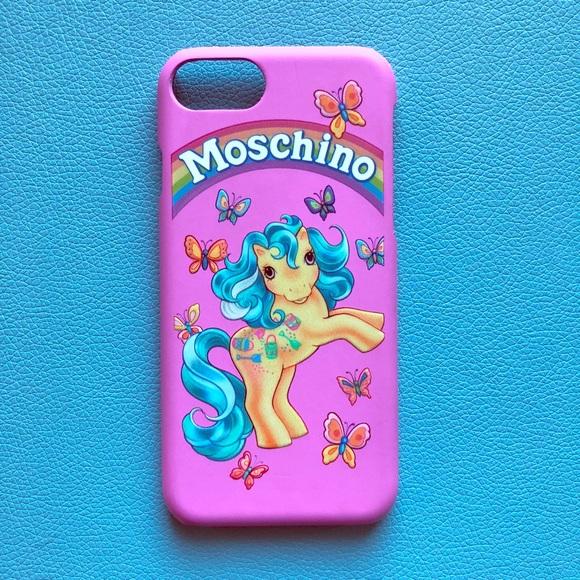 buy popular 73152 3eb84 Moschino Hasbro My Little Pony iPhone 7 case